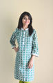 Sweet Pea -  Printed Nursing Kurta with Concealed Zippers