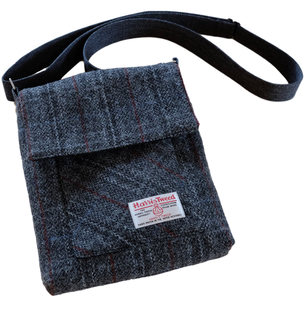 Messenger Bag Harris Tweed