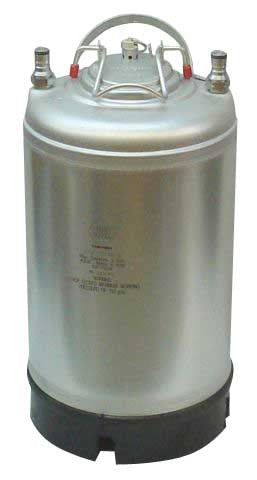 Ball Lock Keg (with lid), New