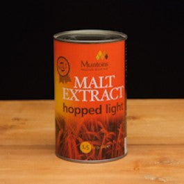 Muntons Hopped Light Single Can (3.3 lb.)