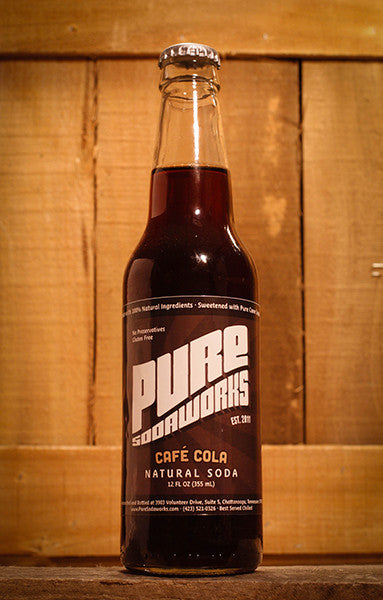 Pure Sodaworks Cafe Cola