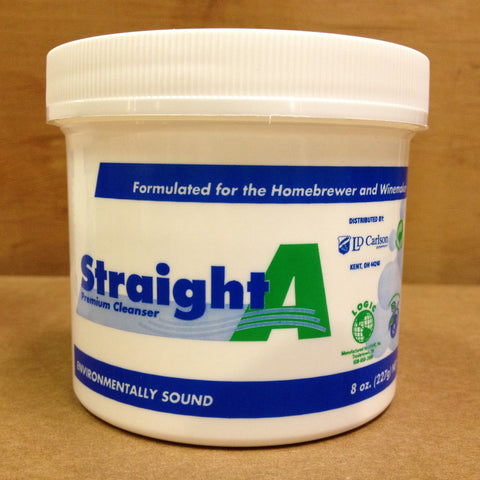 Straight A Premium Cleanser, 8 oz tub