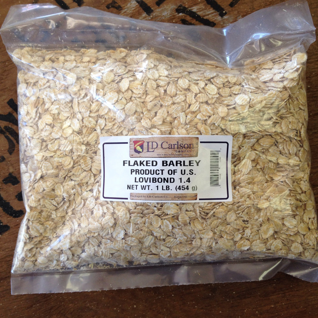Flaked Barley, 1lb bag