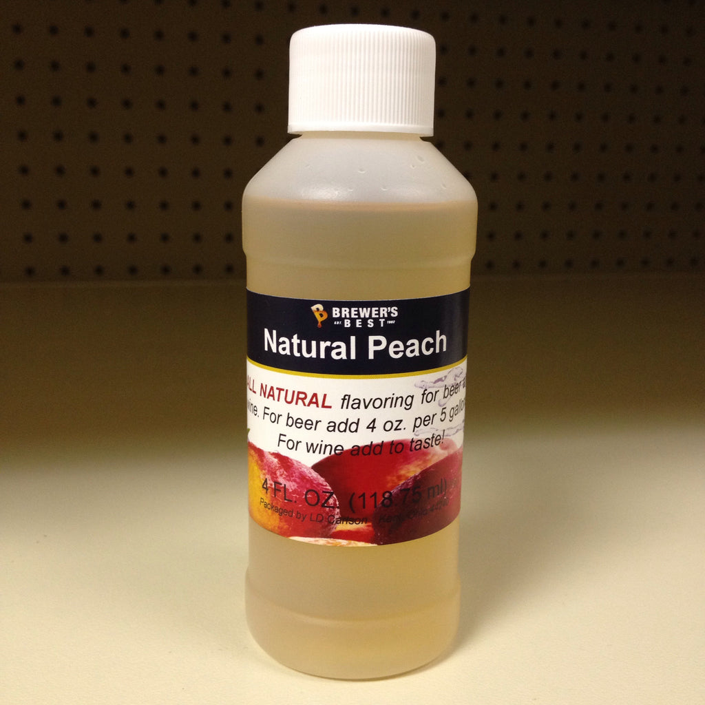 Brewer's Best® Natural Peach Flavoring Extract, 4oz