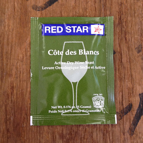 Cote de Blancs Wine Yeast, 5 gm