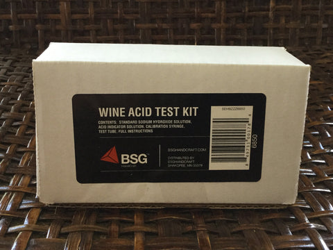 Acid Test Kit, by BSG