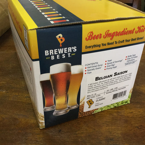 Brewers Best Belgian Saison Beer Ingredient Kit