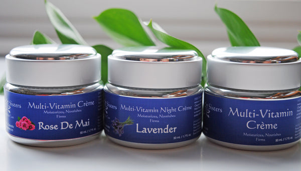 The Only Moisturizer You Will Ever Need: Our Multi Vitamin Creme's!