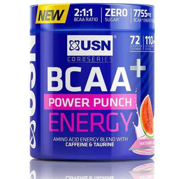BCAA POWER PUNCH ENERGY 400G USN - Diét-éthique