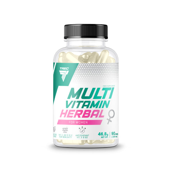 MULTIVITAMIN HERBAL FOR WOMEN – 90 Capsules - TREC