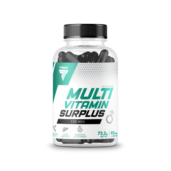 MULTIVITAMIN SURPLUS FOR MEN – 90 Capsules -TREC