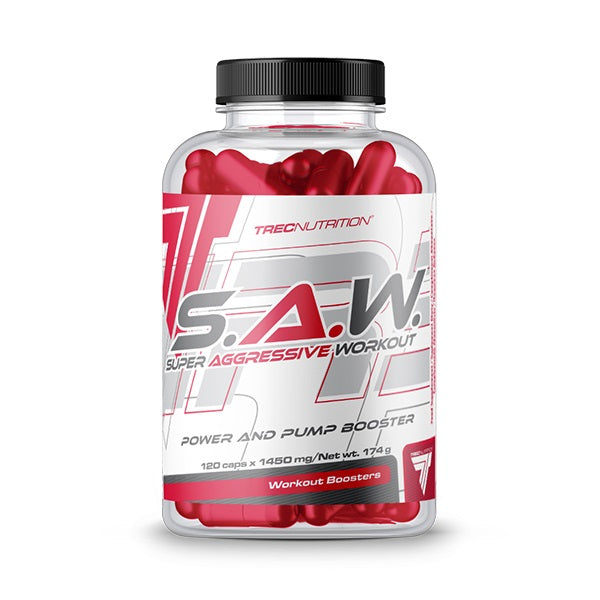 SAW CAPS TREC NUTRITION