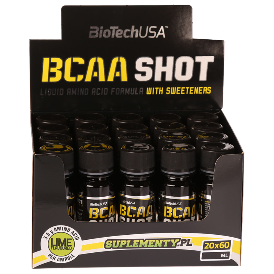 B.C.A.A SHOT 20x60ml BIOTECH