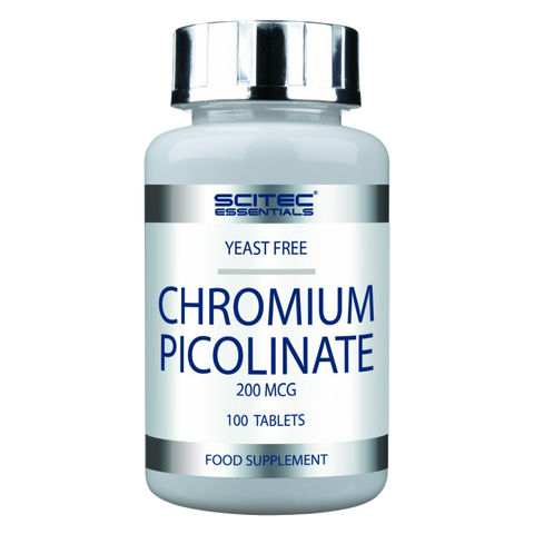 CHROMIUM PICOLINATE  100 caps  SCITEC