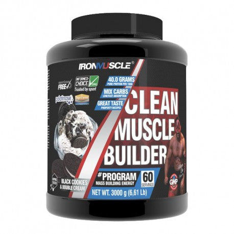 IRON MUSCLE CLEAN MUSCLE BUILDER - Diét-éthique