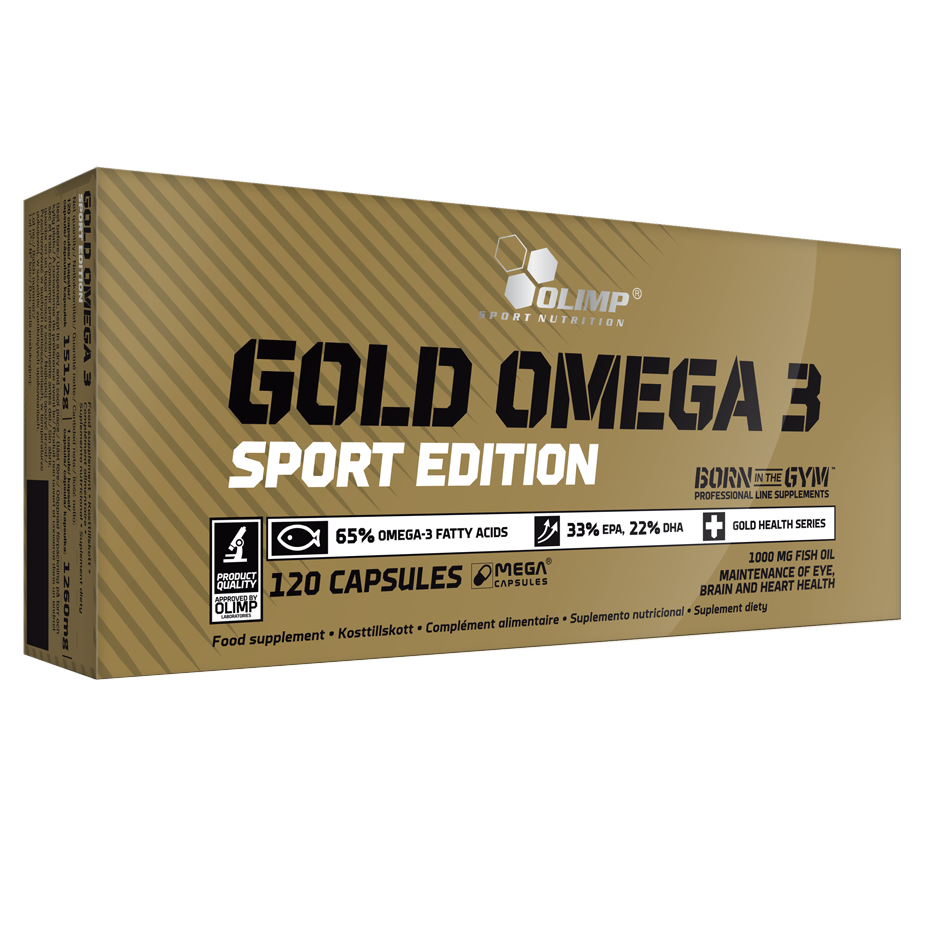 GOLD OMEGA 3 SPORT EDITION 120 CAPS OLIMP