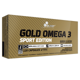 GOLD OMEGA 3 SPORT EDITION 120 CAPS OLIMP - Diét-éthique