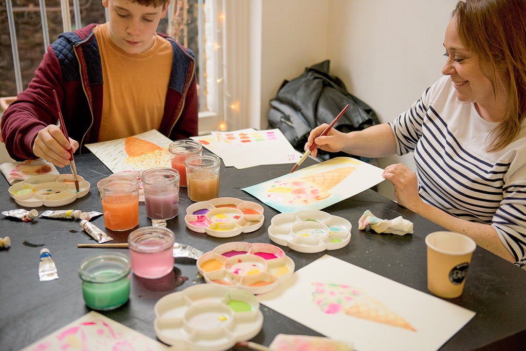 watercolour workshop london