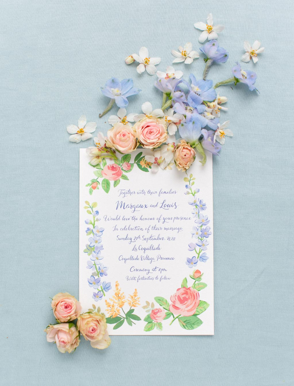Where to find inspiration for your wedding stationery
