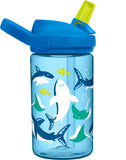 CamelBak 'Eddy PLUS' Kids Drink Bottle 400ml - Sharks and Rays