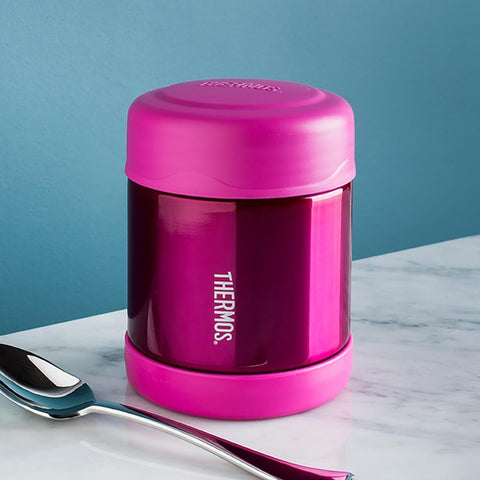 Thermos Insulated Food Jar 290ml - Pink. MORE ARRIVING LATER THIS WEEK.