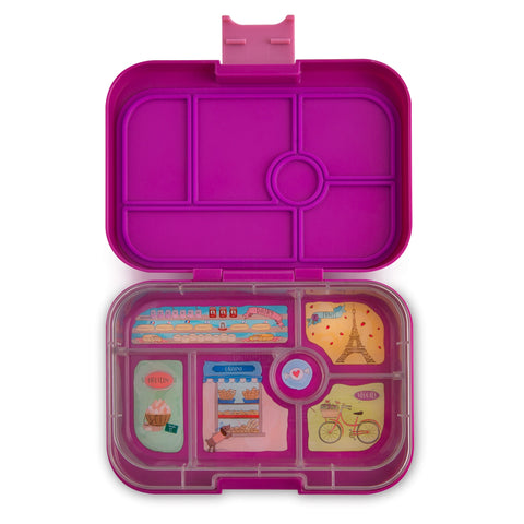 Yumbox Original Bento Lunchbox (6 compartments) – Bijoux Purple. NEW SEASON. PRE-ORDER NOW!