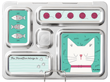 PlanetBox ROVER Stainless Steel Bento Lunchbox (5 Compartments). Lots of design options available