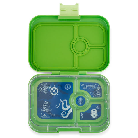 Yumbox Panino Bento Lunchbox (4 compartments) - Coriander Green. NEW SEASON. ARRIVING AROUND 20 JULY. PRE-ORDER NOW!