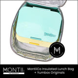 Montii Insulated Lunch Bag - Chasing Rainbows (Includes Ice Pack)