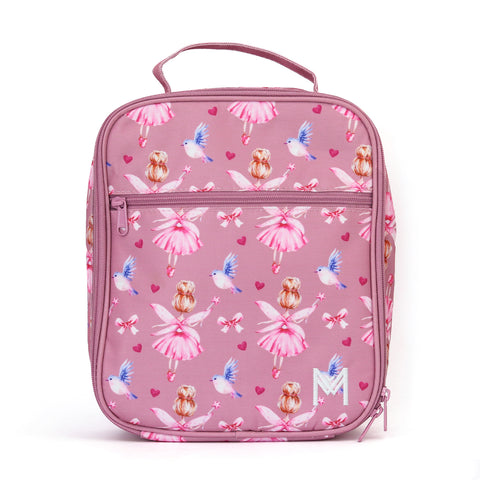 MontiiCo Insulated Lunch Bag - Fairy (Includes Ice Pack)