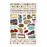 Goodbyn - Dishwasher Safe Lunchbox Stickers (over 150!) - Groovy Vibes