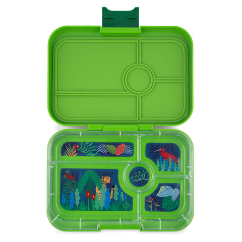 Yumbox Tapas Large Bento Lunchbox (5 compartments) – Kakariki Green