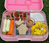 Yumbox Original Bento Lunchbox (6 compartments) – Congo Green