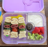 Yumbox Panino Bento Lunchbox (4 compartments) - Misty Aqua. ONLY 3 LEFT!
