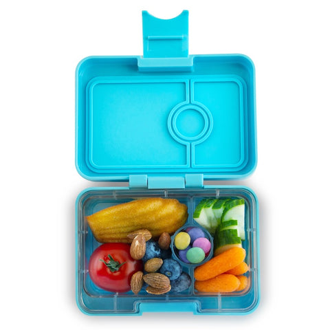 Yumbox MiniSnack Bento Lunchbox (3 compartments) – Nevis Blue