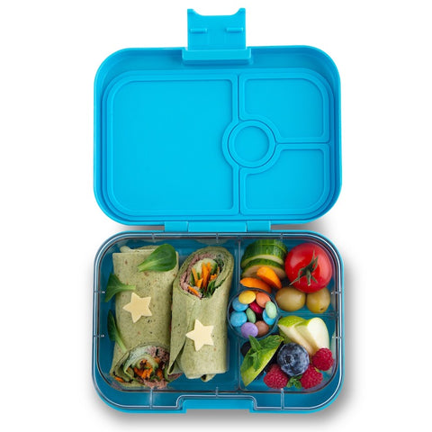 Yumbox Panino Bento Lunchbox (4 compartments) - Nevis Blue