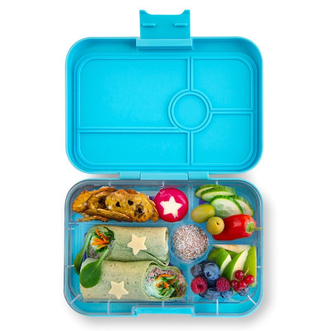 Yumbox Tapas Large Bento Lunchbox (5 compartments) – Nevis Blue. ARRIVING 16 DECEMBER. PRE-ORDER NOW!