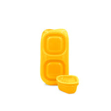 Goodbyn Snack Box + 1 Leakproof Dipper - Orange