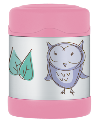 Thermos Insulated Food Jar 290ml - Owl. LAST ONE!