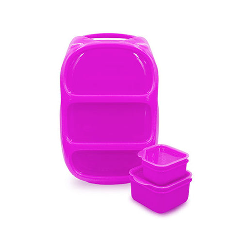 Goodbyn Bynto Lunchbox + 2 Leakproof Dippers - Purple