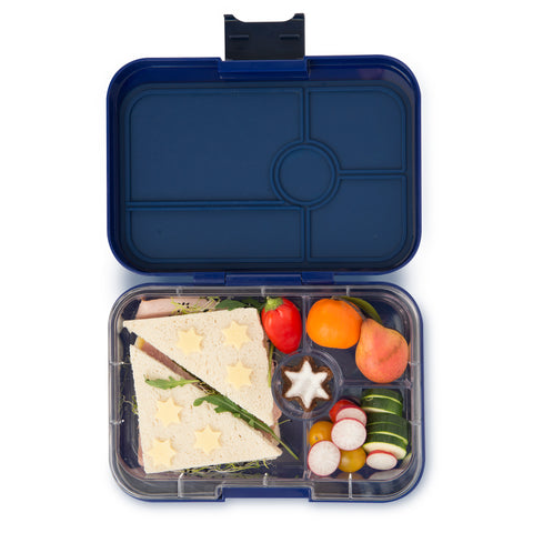 Yumbox Tapas Large Bento Lunchbox (4 compartments) – Portofino Blue. HURRY - ONLY 2 LEFT!