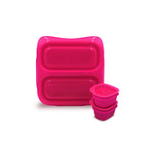 Goodbyn Small Meal + 2 Leakproof Dippers - Pink