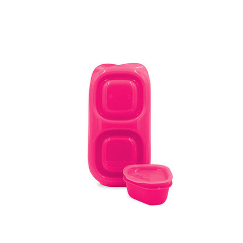 Goodbyn Snack Box + 1 Leakproof Dipper - Pink