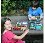 Stainless steel lunchbox for kids - PlanetBox NZ