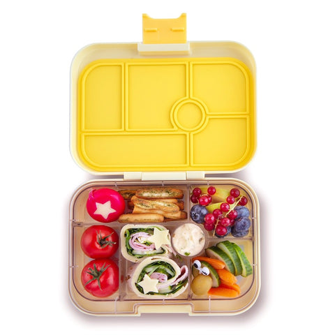Yumbox Original Bento Lunchbox (6 compartments) – Sunburst Yellow