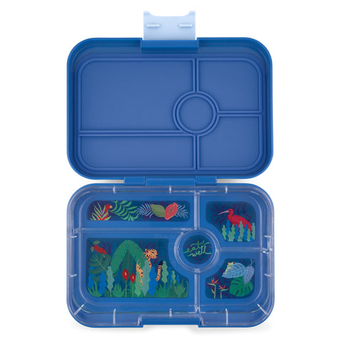 Yumbox Tapas Large Bento Lunchbox (5 compartments) – True Blue