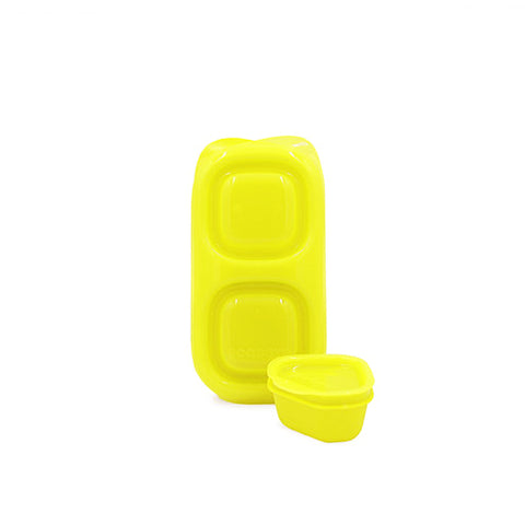 Goodbyn Snack Box + 1 Leakproof Dipper - Yellow