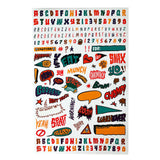 Goodbyn - Dishwasher Safe Lunchbox Stickers (over 150!) - Zany Boombox