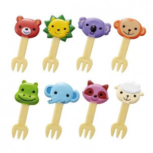 Animal Food Forks (x8)