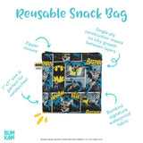Bumkins Large Snack/Sandwich Bag - Superman. LAST ONE!